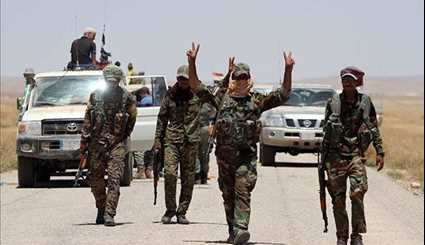 Hashid Al-Shaabi on Border with Syria to Begin Operation against ISIL