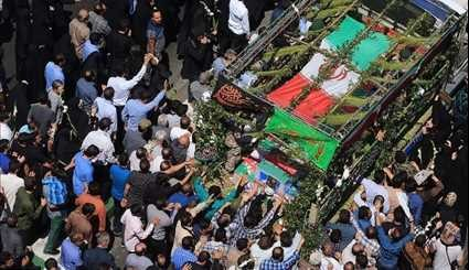 Iran Holds Funeral for Terror Victims