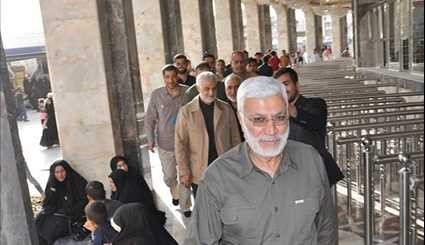 Iraq: General Soleimani in Holy City of Karbala
