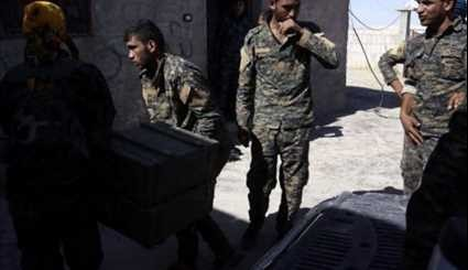 US Continues Arming Kurds in Raqqa