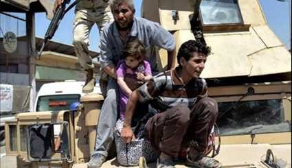 Terrorists Attack Civilians Fleeing Mosul