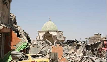 Iraqi Forces Recapture Al-Nuri Mosque from ISIL in Mosul's Old City