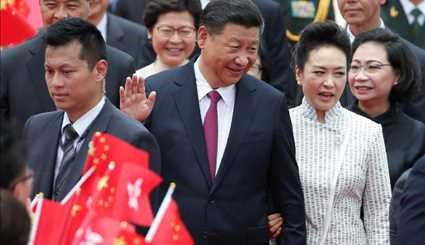Xi Jinping in Hong Kong