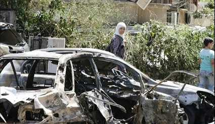 Deadly Car Bomb Blasts Rock Syrian Capital