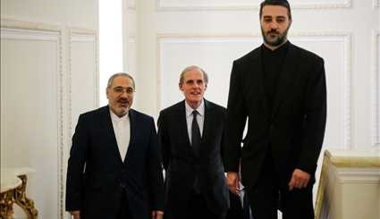 Zarif, French official meet in Tehran