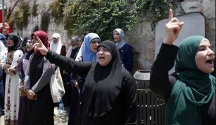 Israeli Forces Attack Palestinian Protesters outside Al-Aqsa Mosque