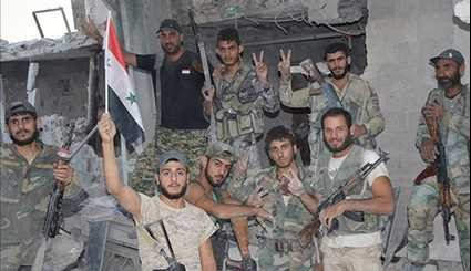 Syrian Army Expands Control in Eastern Damascus