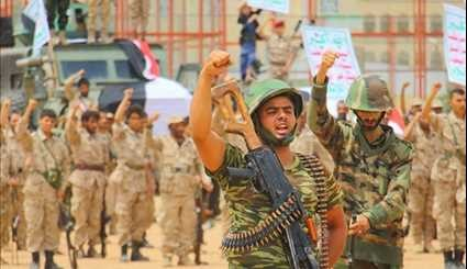 Yemeni Fighters Gather to Express Support for War against Saudi Aggression