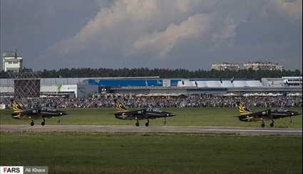 Int'l MAKS Air Show Continues with Stunning Aerobatic Maneuvers on 4th Day