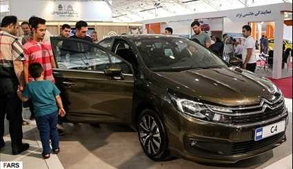 Int'l Car Exhibition kicks off in south-central Iran