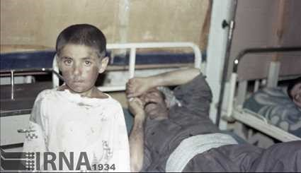 August 1988 - chemical bombardment of the Ashveniyah area / images