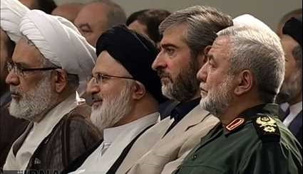 Endorsement ceremony of Pres. Rouhani