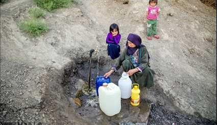 Dehydration crisis in North Khorasan. Pictures