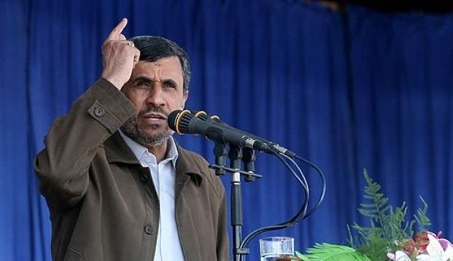 Enemies seek to disintegrate ME: Ahmadinejad
