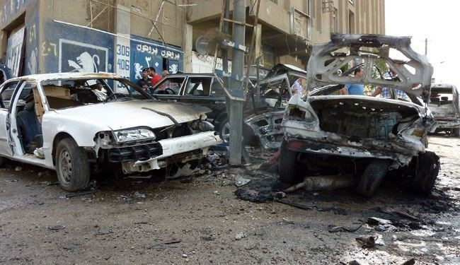 At least 20 killed in Iraq market bombing