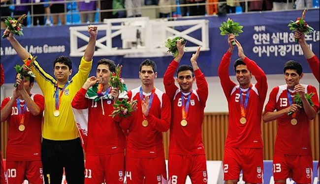 Iran futsal team beats Japan to win Asian title