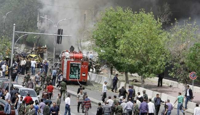 Three killed in bomb blast in Syrian city of Homs