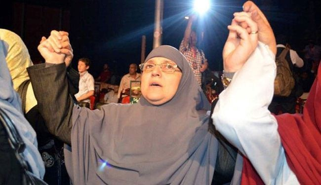 Ex-first lady: Morsi is coming back