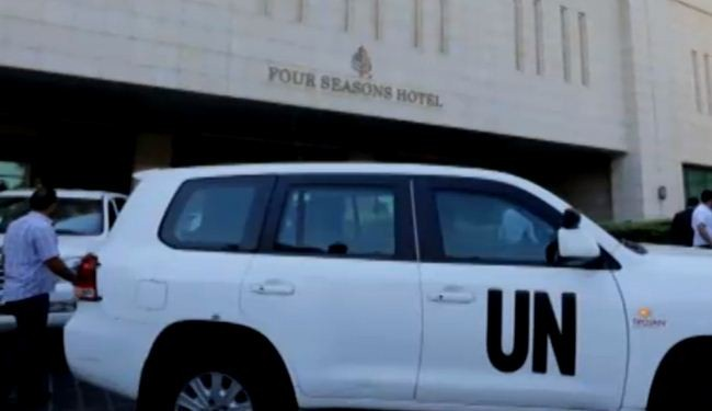 UN chemical inspectors arrive in Damascus