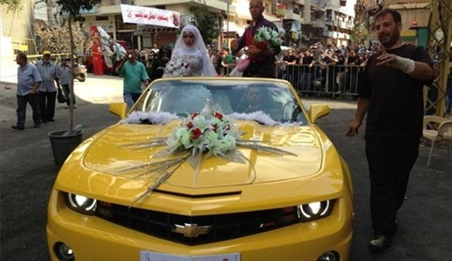 Lebanese couple ties the knot at Beirut blast site