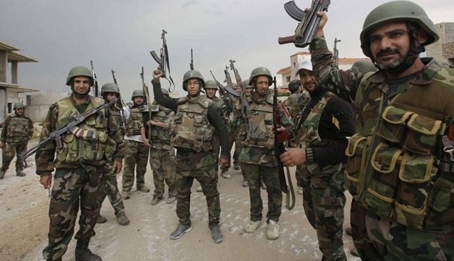 Syrian army advances in Rif Dimashq