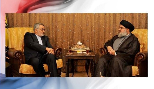 Nasrallah, Iranian MP discuss Syria