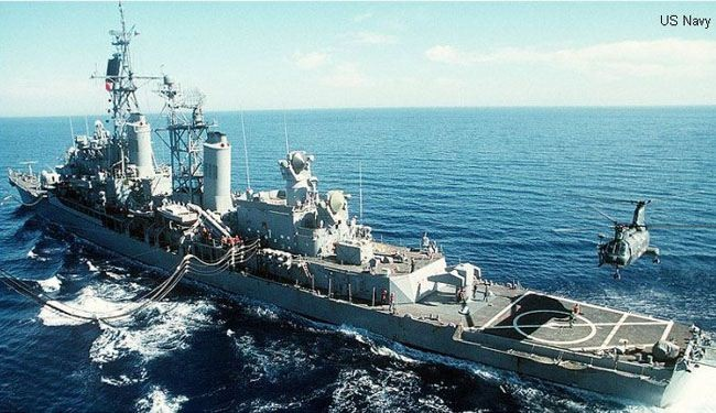 US Navy redeploys warships in mideast