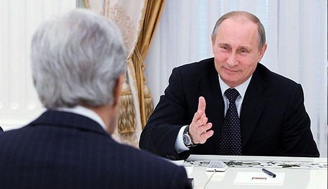 Putin slams Kerry over his bluffs on Syria