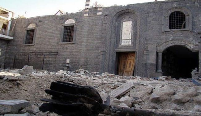 Syrian Christians urge help instead of more wars