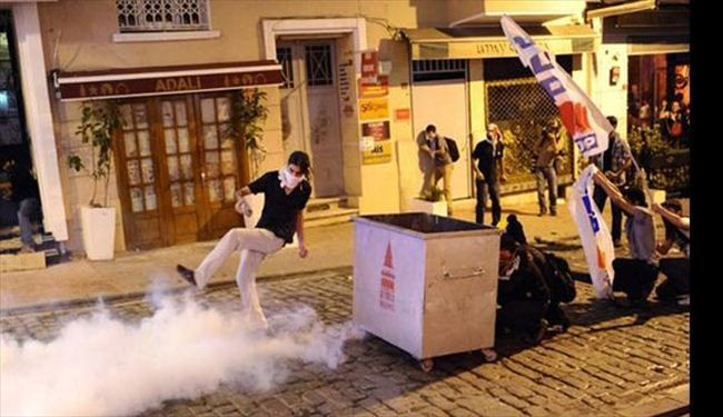 Demonstrator's death stirs protests in Turkey