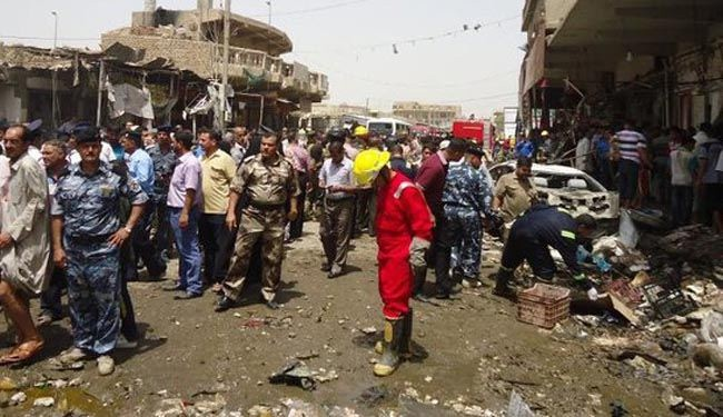 At least 23 killed in Baghdad market blasts