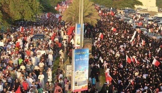 Bahrainis march in memory of killed protester