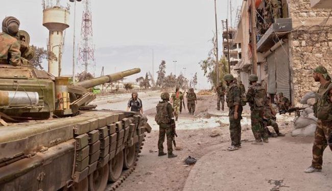 Syria army inflicts heavy losses on militants in Yarmouk camp