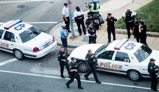US police kill woman in car chase near Capitol Building