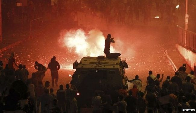 Egypt used live rounds against protesters: Amnesty