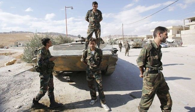 Strategic area near Damascus recaptured by Syrian army