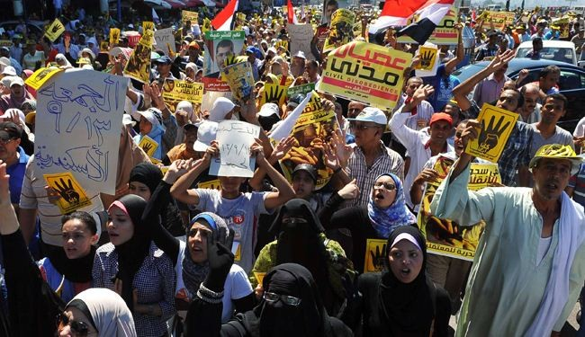 Morsi supporters fill streets across Egypt