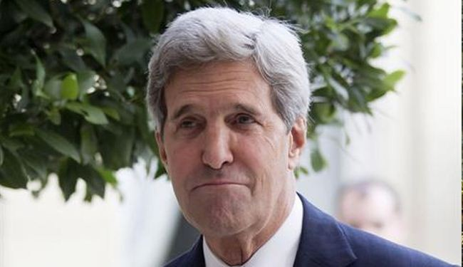 Kerry warns against Assad reelection bid