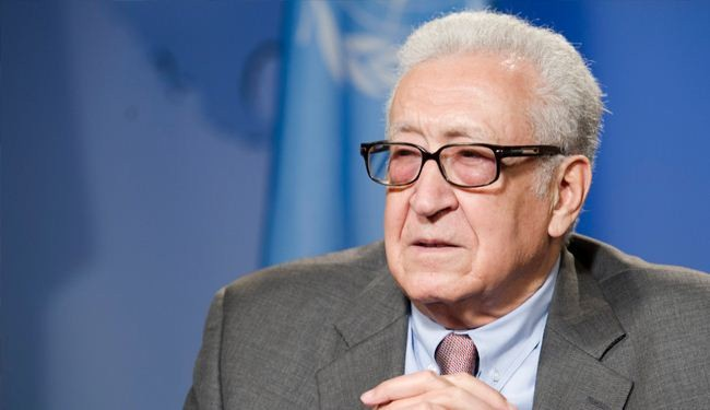 Brahimi arrives in Tehran for Syria talks