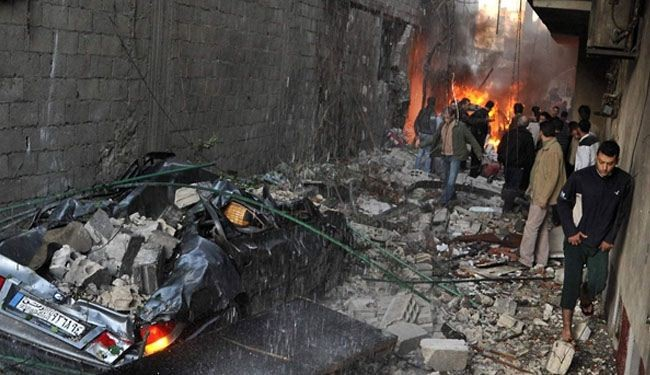 Rebel mortar shells hit Christian-Druze suburb of Damascus, 2 women killed