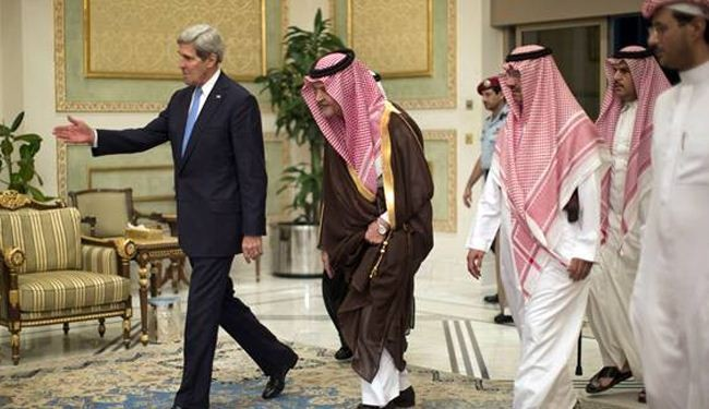 Kerry in Riyadh to mend rifts with Saudi royals