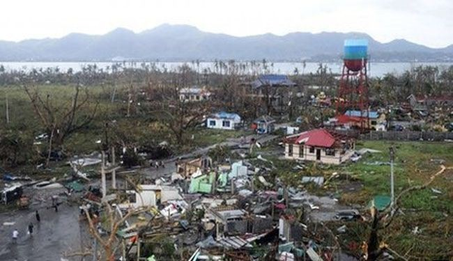 1,200 dead as typhoon pounds central Philippines
