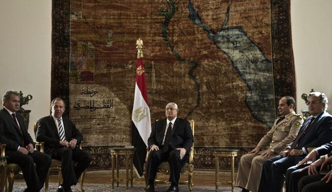 Egypt army seeks new strategic cooperation with Russia