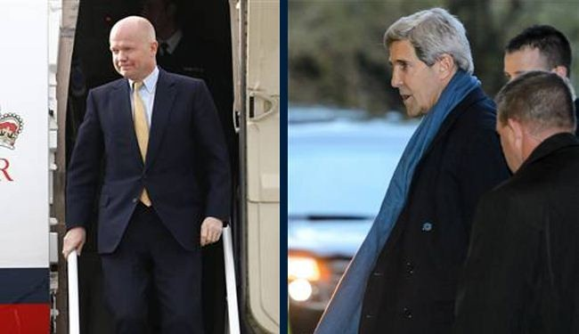 Kerry, Hague join Iran nuclear talks