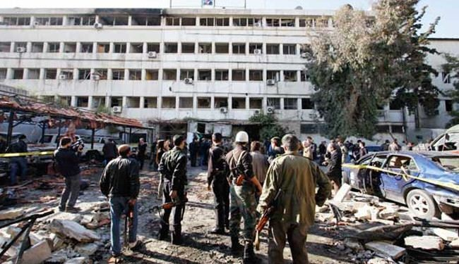Deadly suicide attack hits Syrian capital