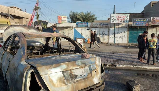 Bombings kill 16 in Baghdad province