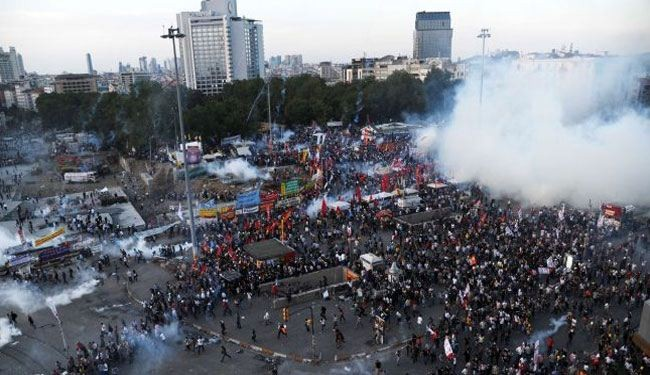 Turkey charges 255 over anti government rallies