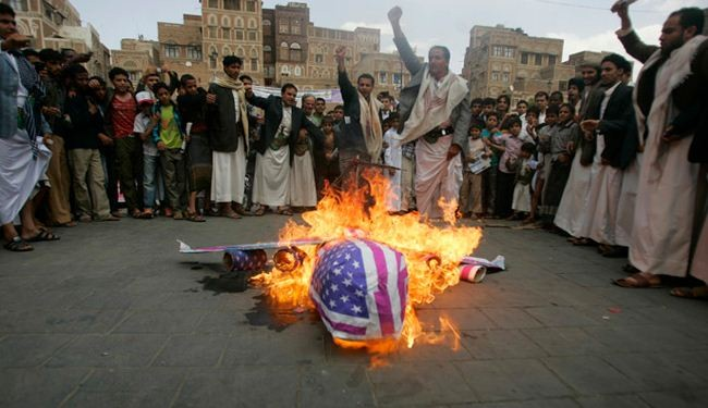New anti-US protests in Yemen