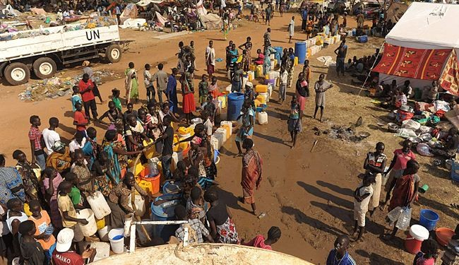 UN: Hundreds of thousands displaced in South Sudan