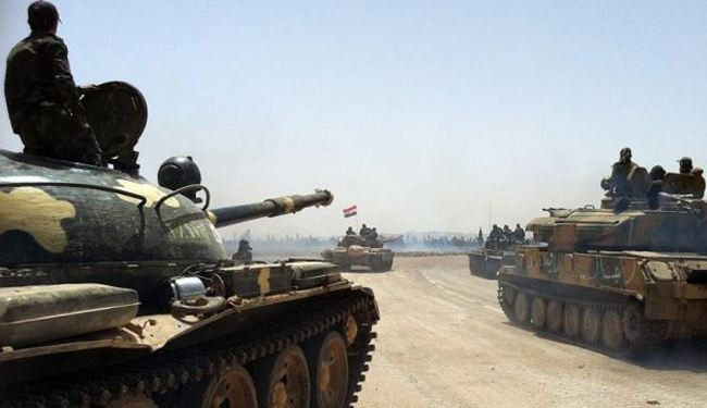 Syria army continues mop-up operations across country